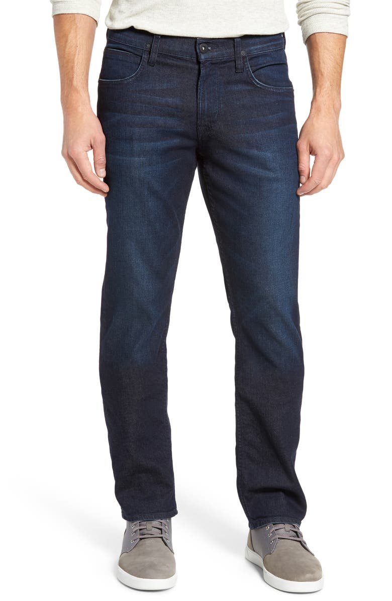 HUDSON JEANS Byron Slim Straight Leg Jeans, Main, color, 403