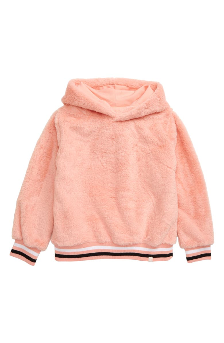 SOVEREIGN CODE Kira Fuzzy Hoodie, Main, color, PINK