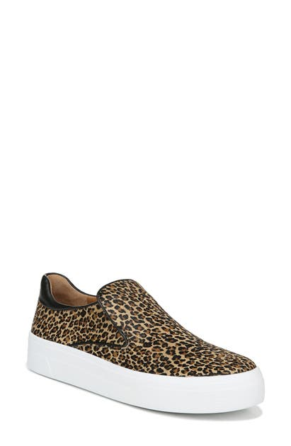 Via Spiga Platforms VELINA SLIP-ON GENUINE CALF HAIR PLATFORM SNEAKER