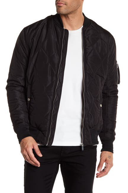 Image of Sovereign Code Astro Quilted Bomber Jacket
