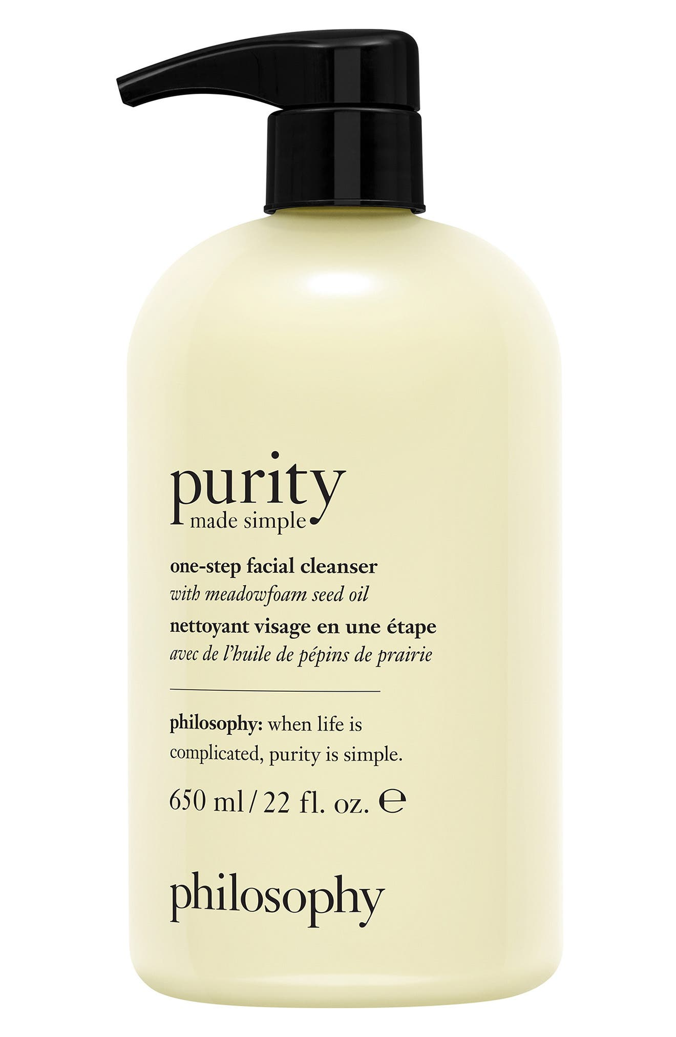 Purity made simple one-step facial cleanser | Nordstrom