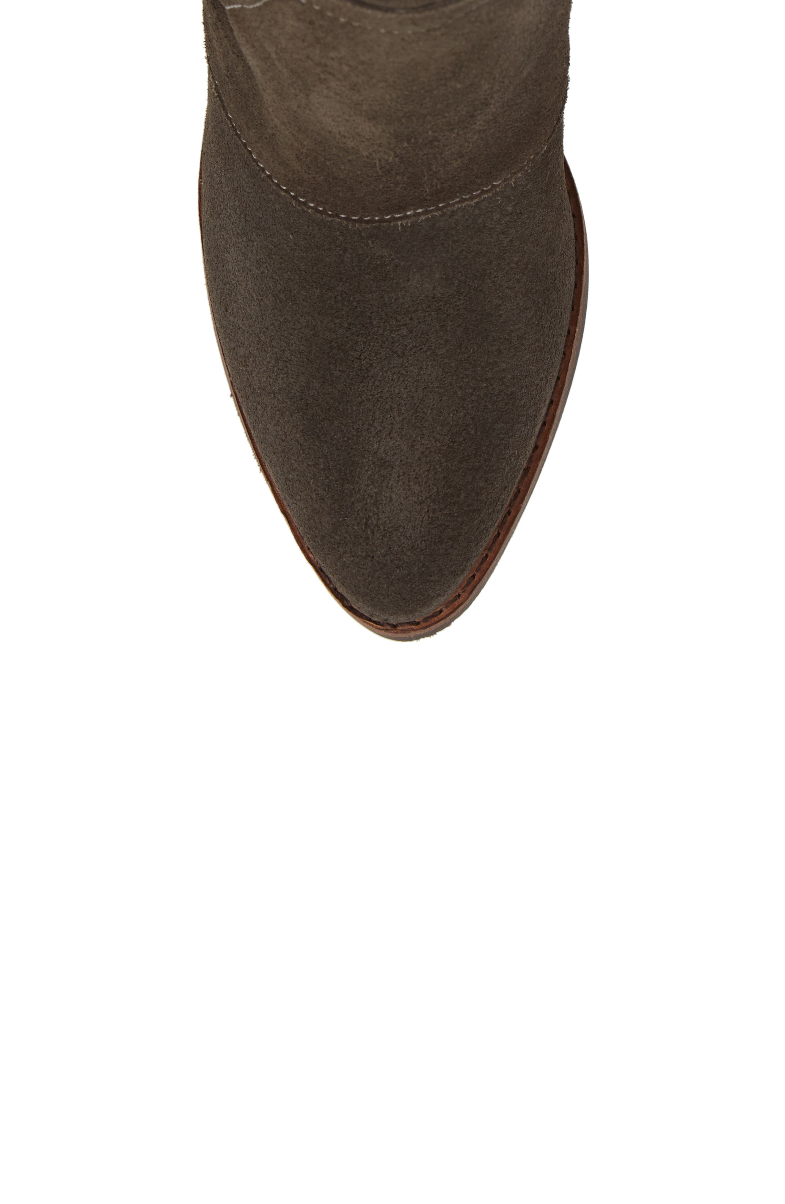 ,                             Laney Notched Heel Bootie,                             Alternate thumbnail 5, color,                             020