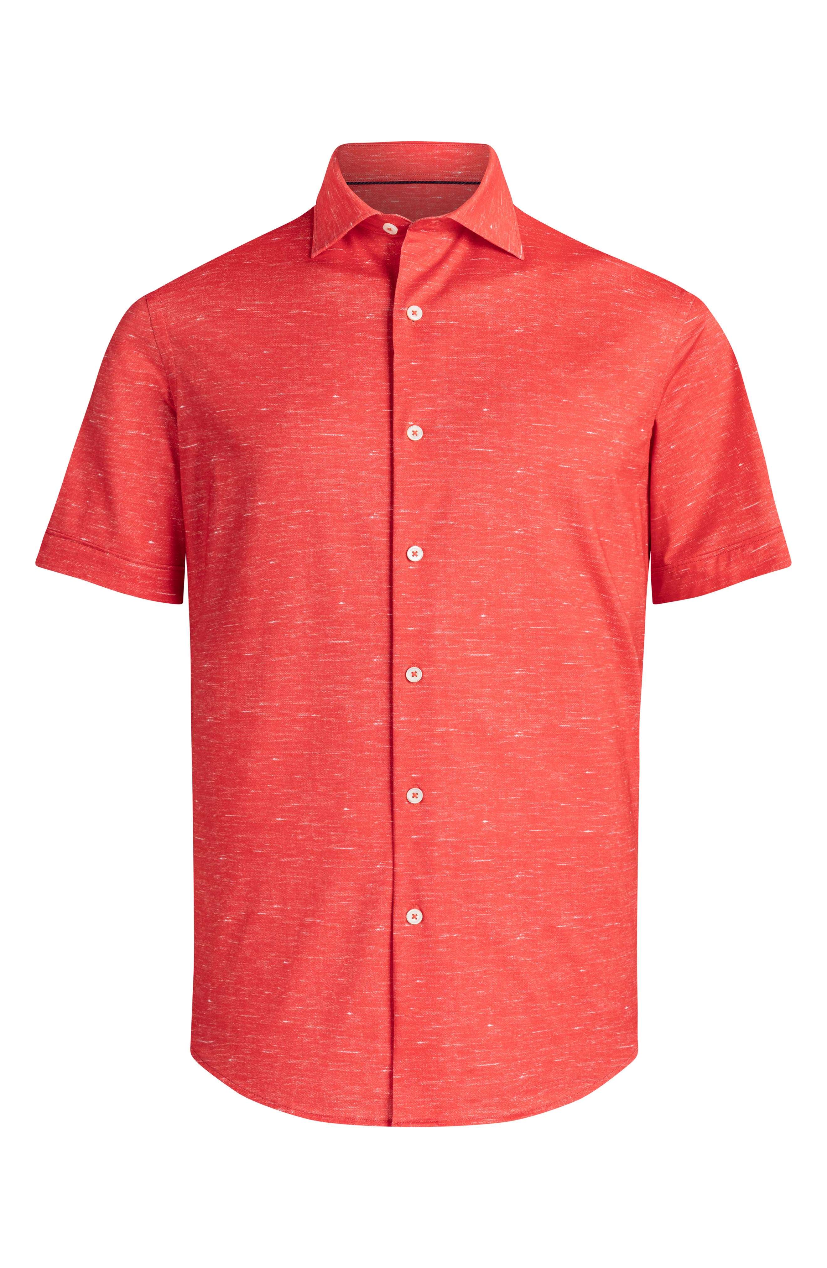 Regular Fit Knit Short Sleeve Shirt