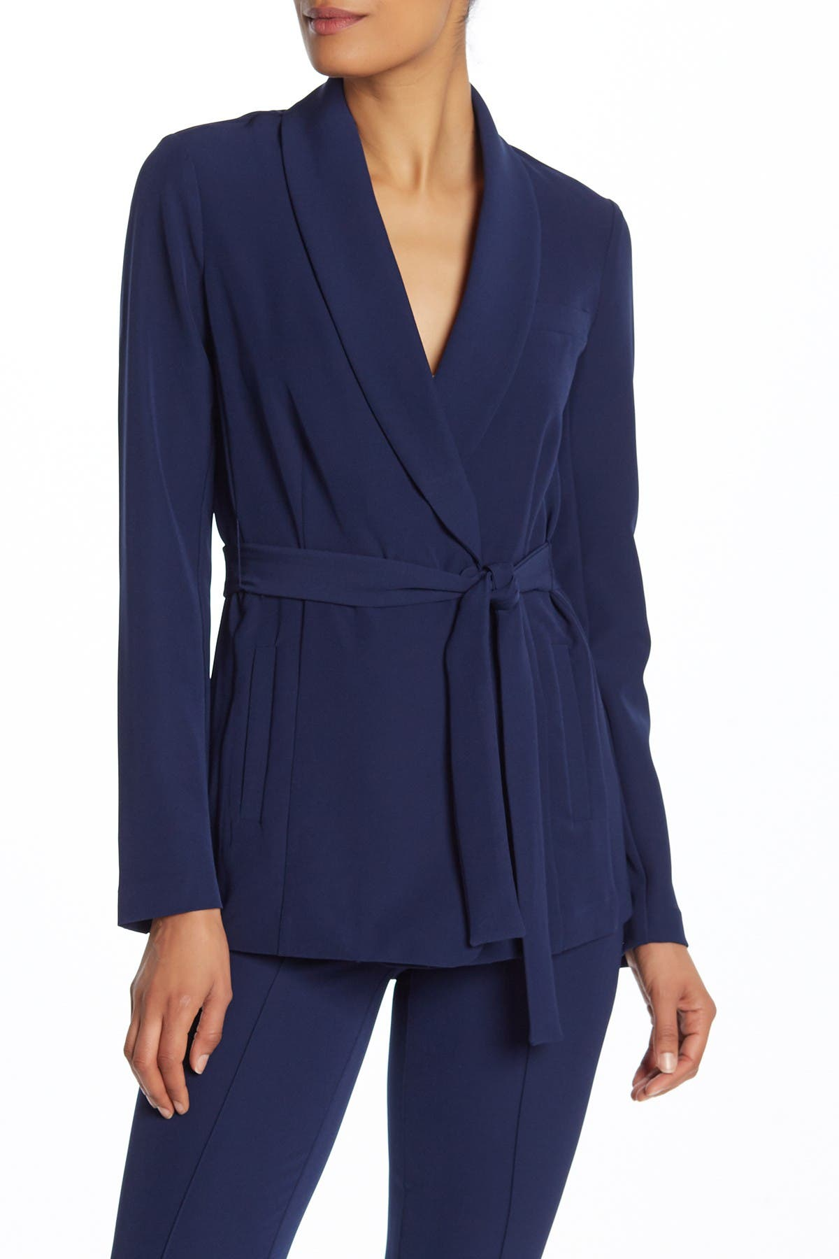 Image of Laundry By Shelli Segal Shawl Collar Jacket