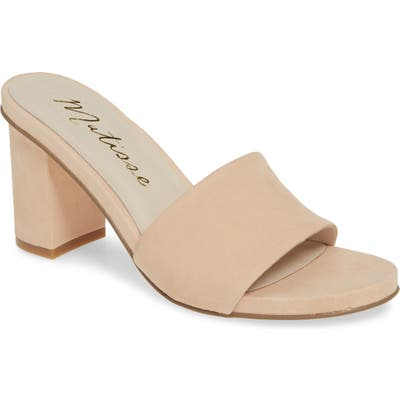 Matisse Nico Slide Sandal- Beige