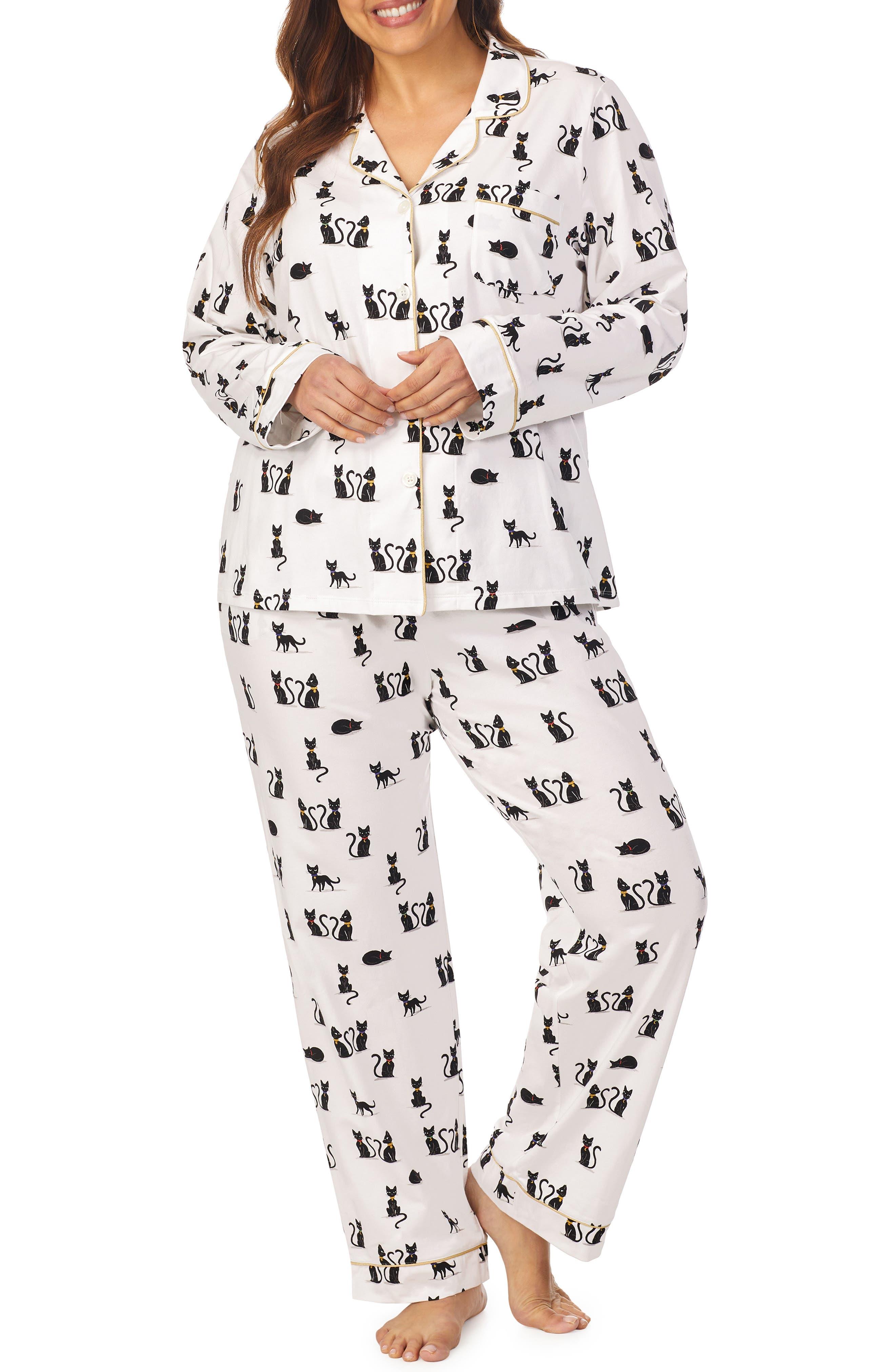 Stretch Organic Cotton Jersey Pajamas
