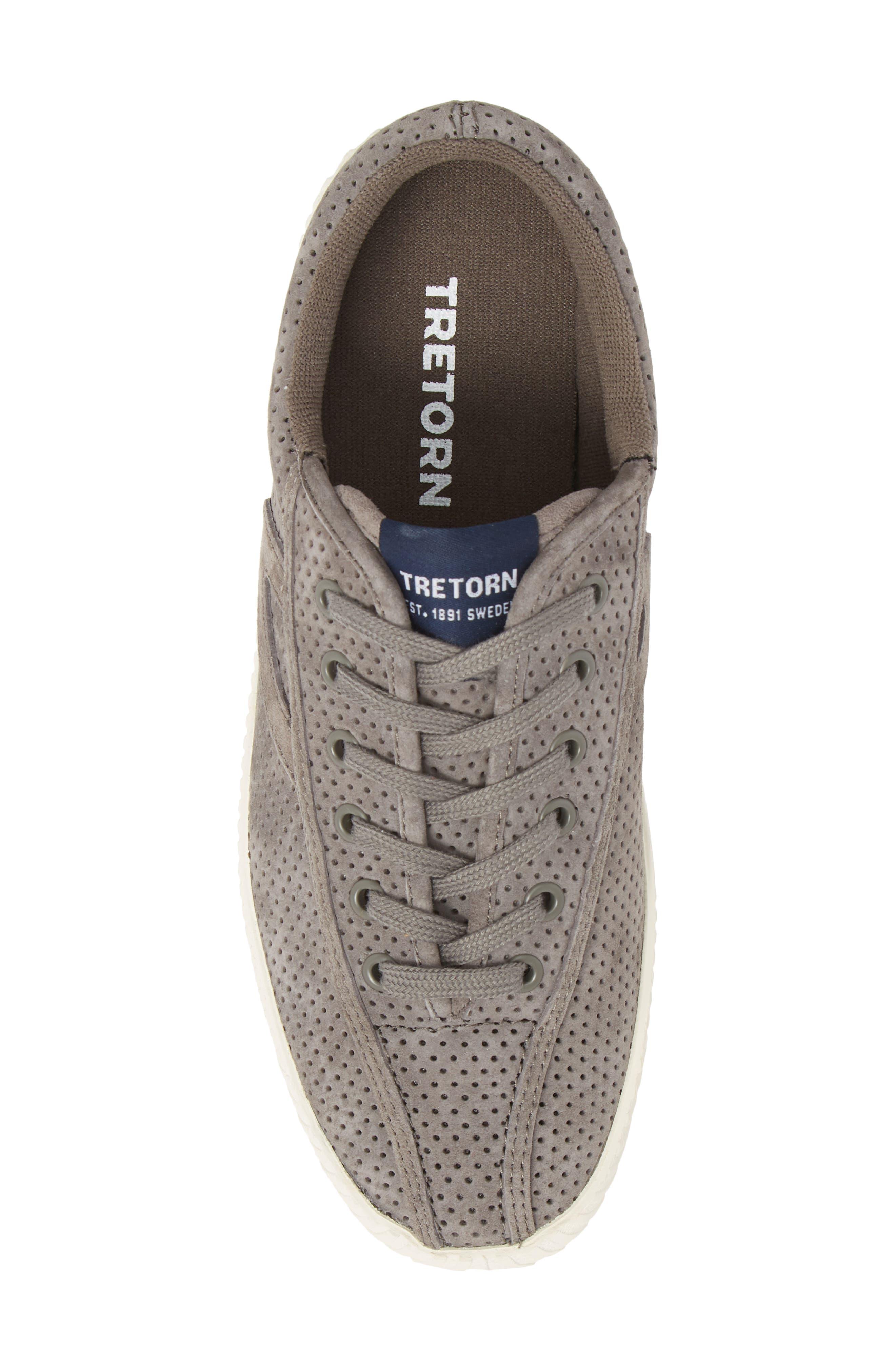 ,                             Bold Perforated Platform Sneaker,                             Alternate thumbnail 5, color,                             GRAPHITE/ GRAPHITE