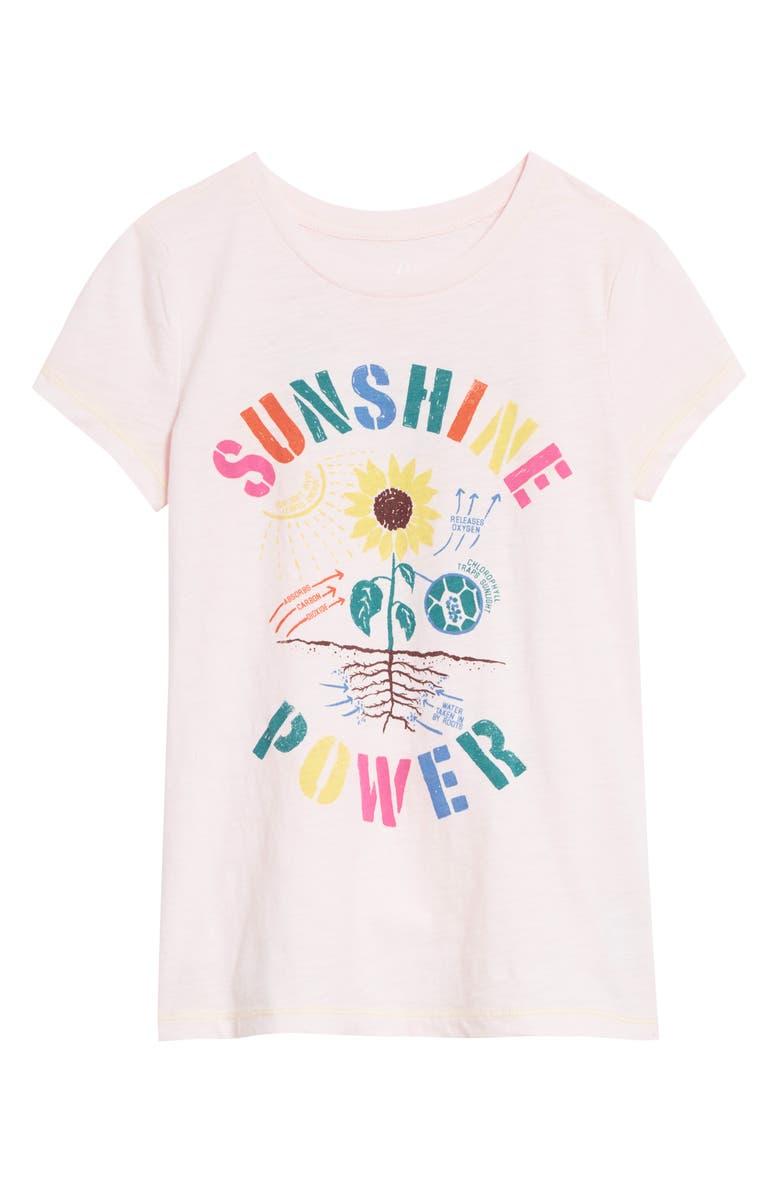 PEEK AREN'T YOU CURIOUS Sunshine Power Graphic Tee, Main, color, LAVENDER