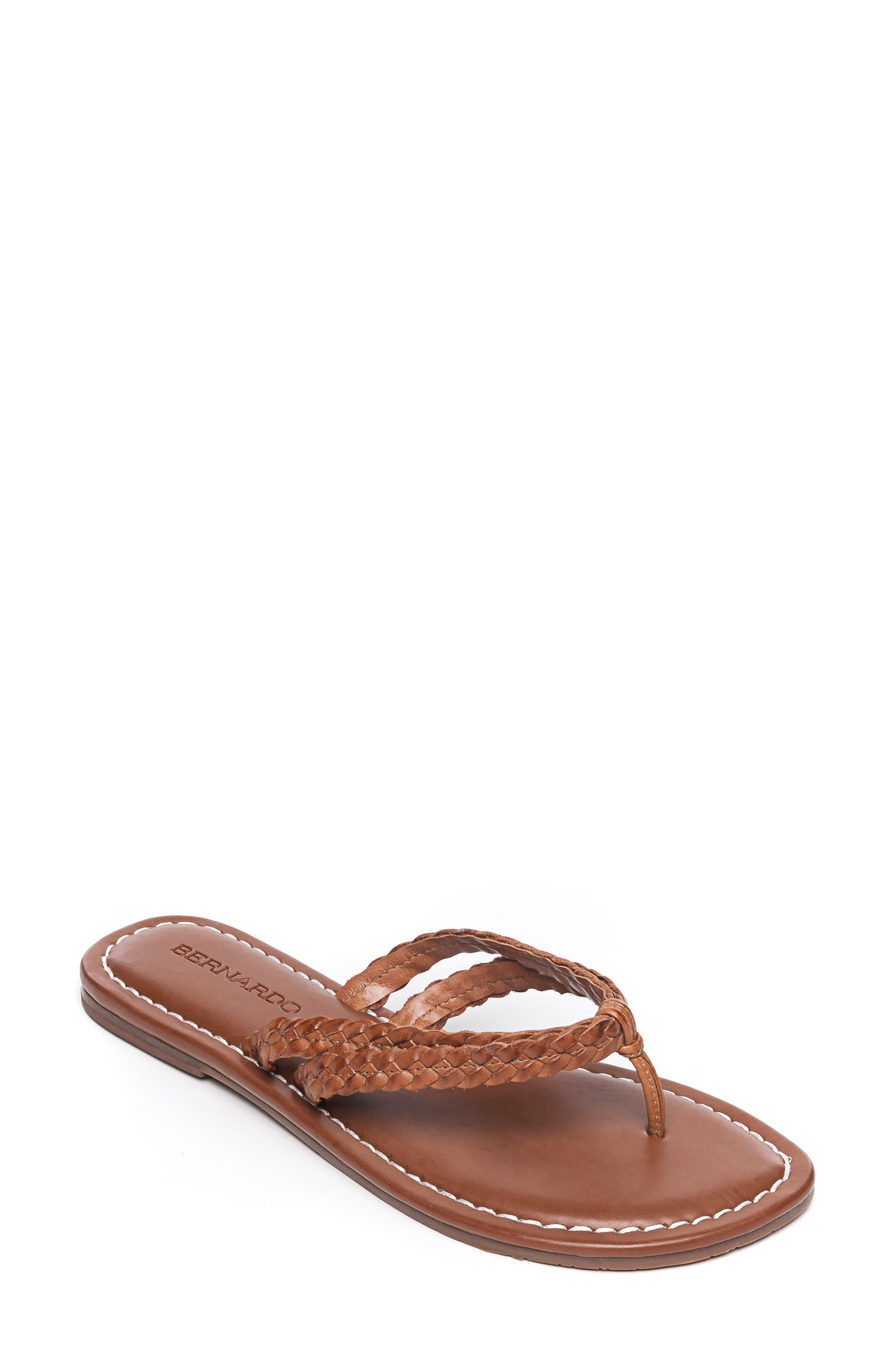 Bernardo Mariah Flip Flop, Brown