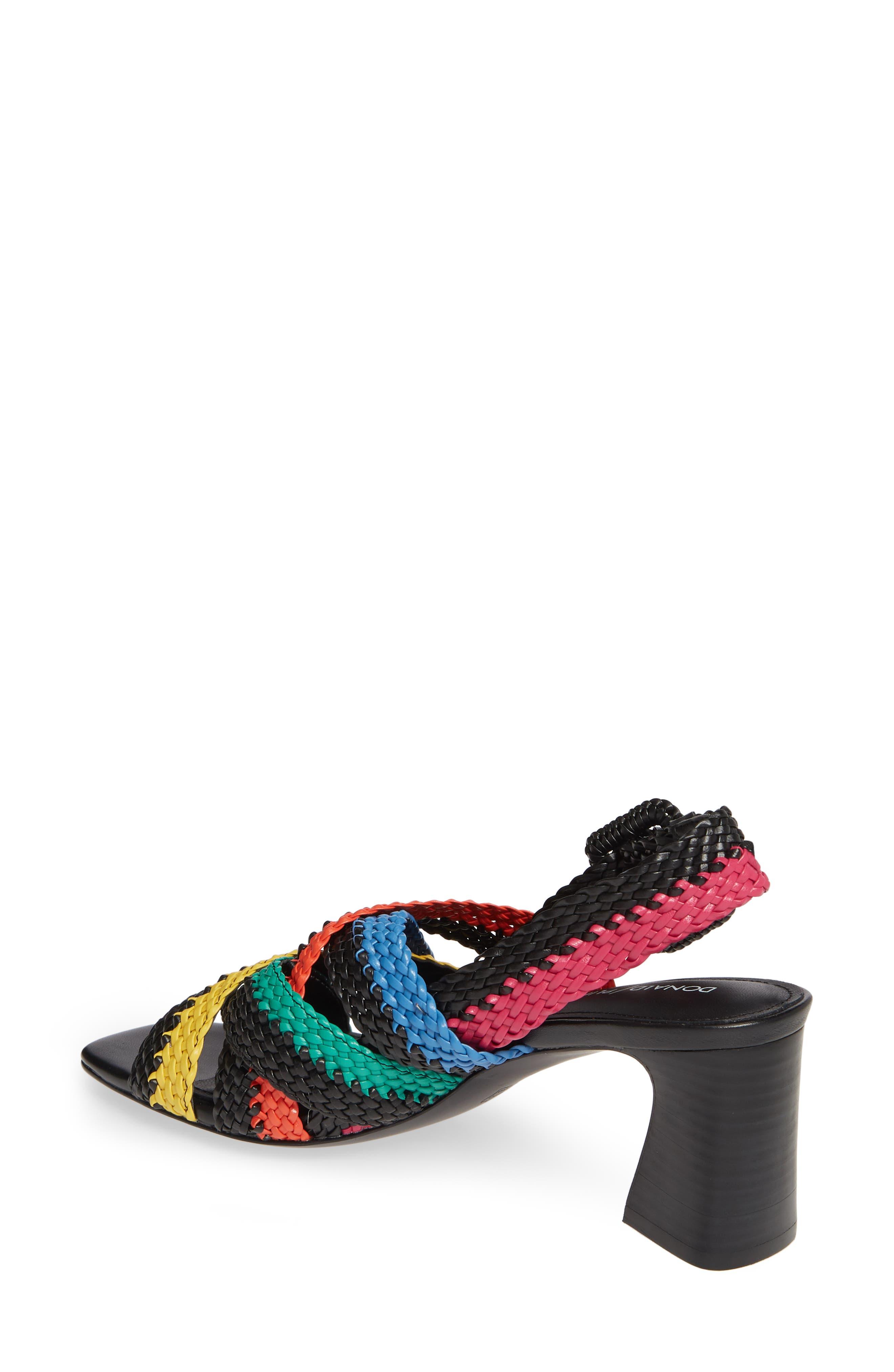 ,                             Vara Slingback Sandal,                             Alternate thumbnail 2, color,                             BLACK LEATHER