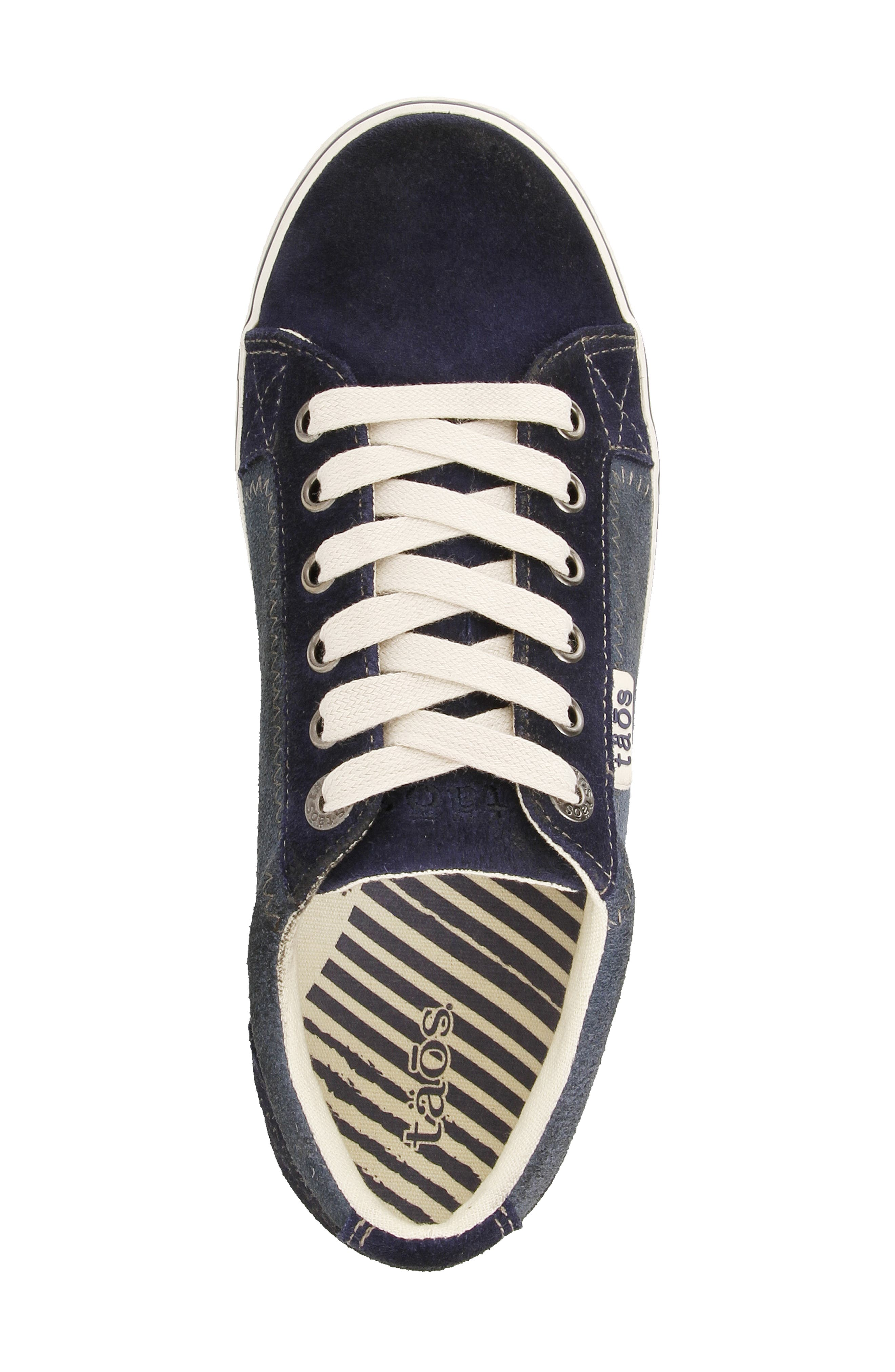 ,                             Retro Star Sneaker,                             Alternate thumbnail 4, color,                             BLUE MULTI LEATHER