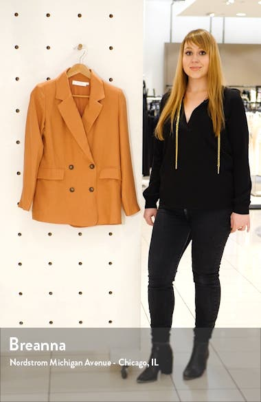 Allegra Double Breasted Blazer, sales video thumbnail