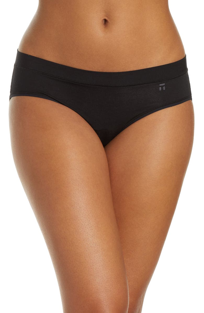 TOMMY JOHN Second Skin Briefs, Main, color, BLACK