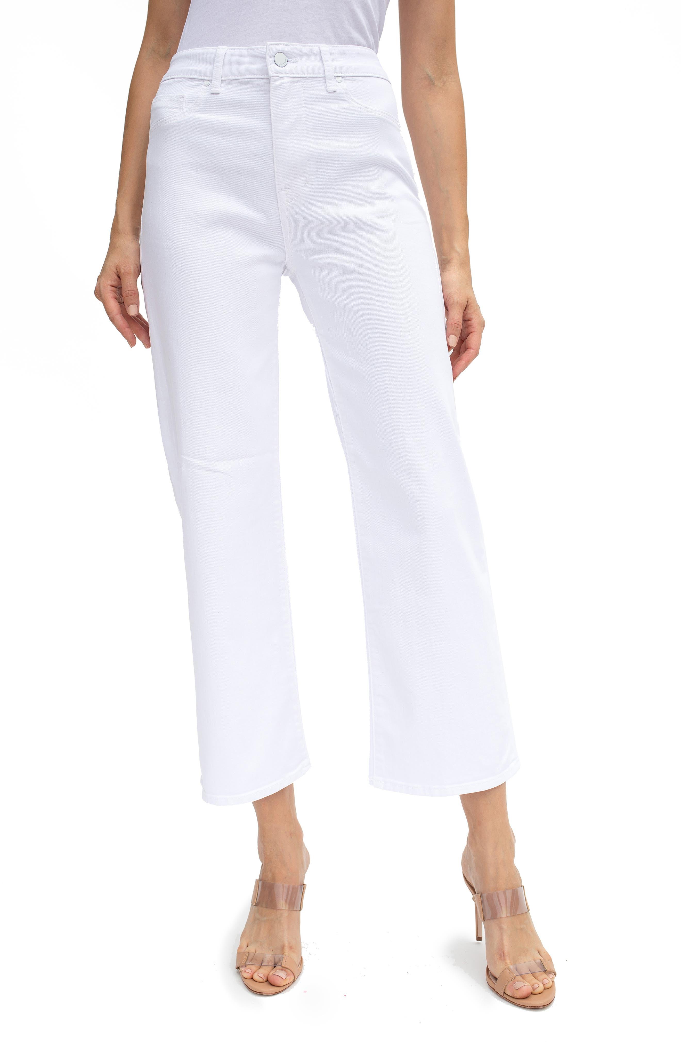 Malibu High Waist Crop Flare Jeans