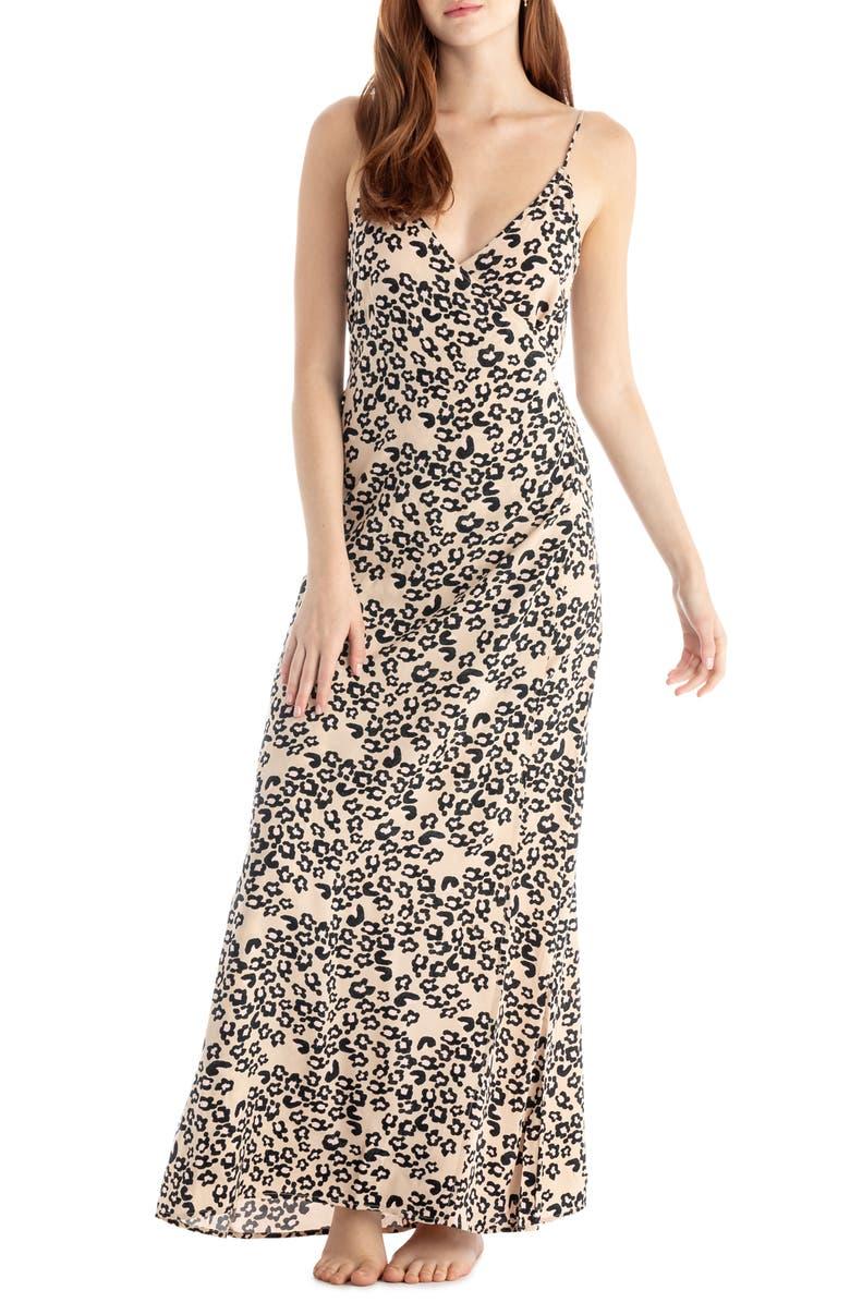 TAVIK Turner Cover-Up Maxi Dress, Main, color, CHEETAH FLORAL