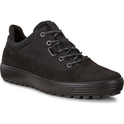 Ecco Soft 7 Tred Terrain Low Waterproof Sneaker - Black