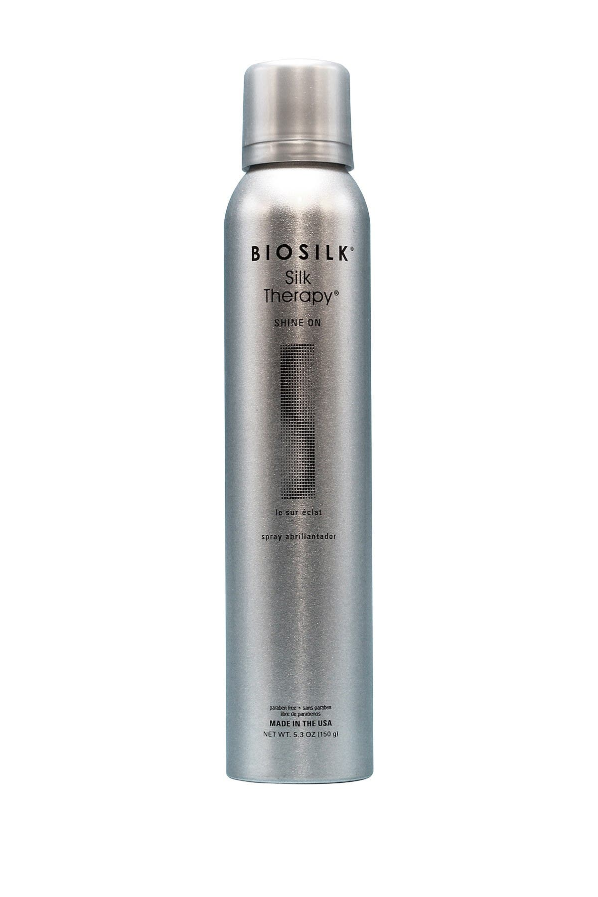 Image of Biosilk Silk Therapy Shine On Spray - 5.3 oz.