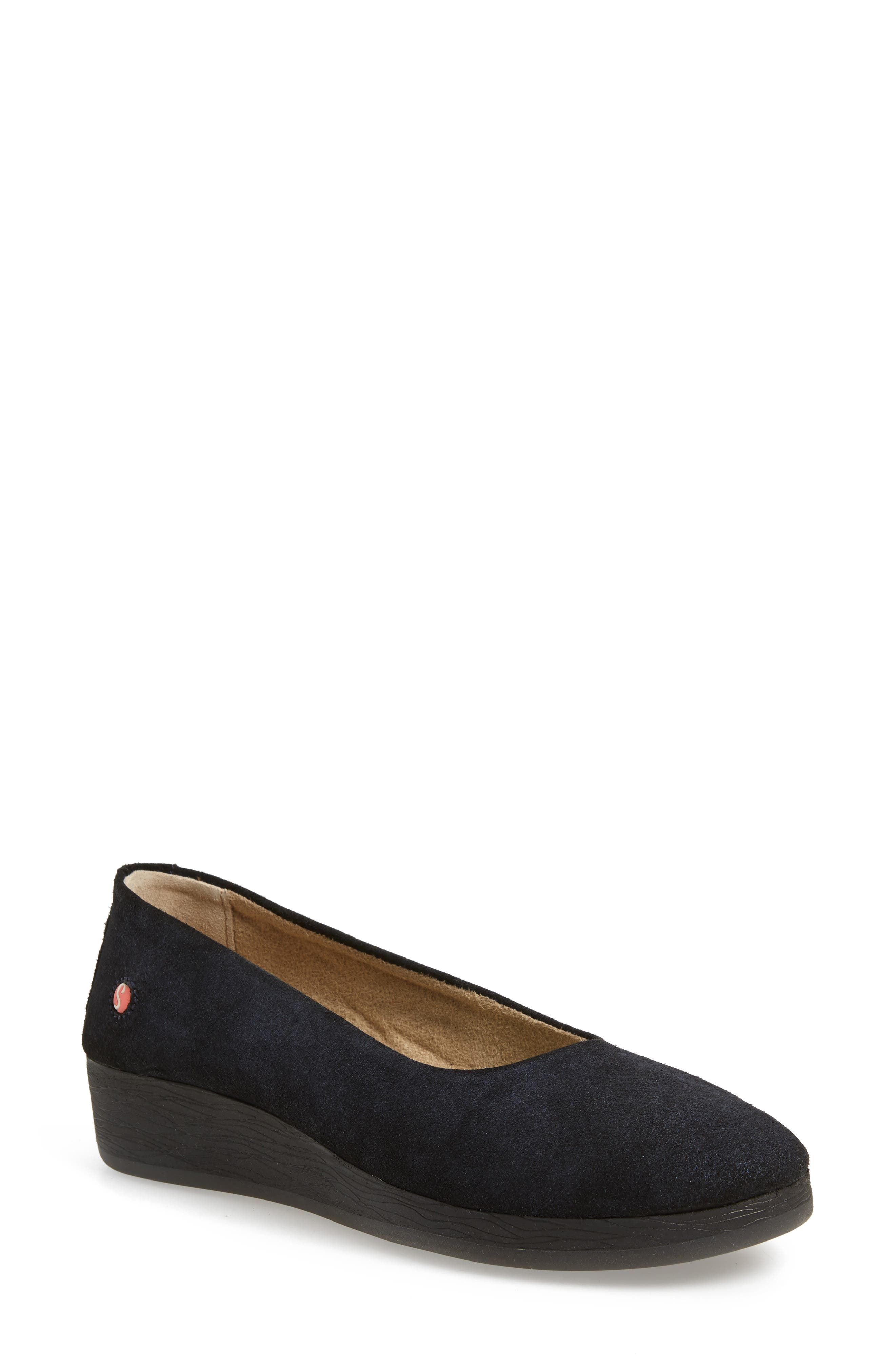 Softinos By Fly London Asa Soft Flat - Blue