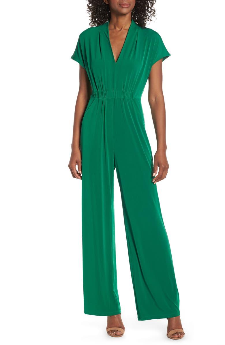 VINCE CAMUTO Cinched Waist Jumpsuit, Main, color, 310