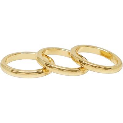 Ettika Set Of 3 Band Rings