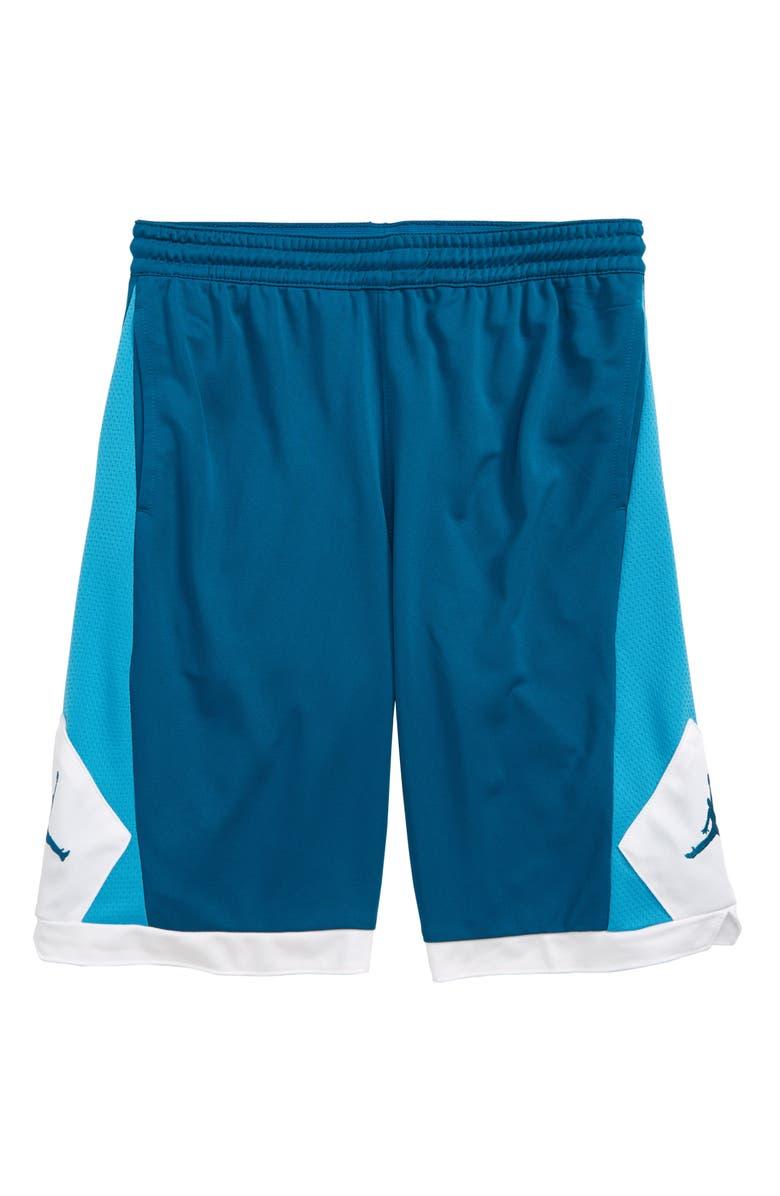 JORDAN Authentic Triangle Shorts, Main, color, 385