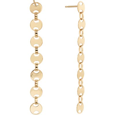 Lana Jewelry Small Rodeo Chain Linear Earrings