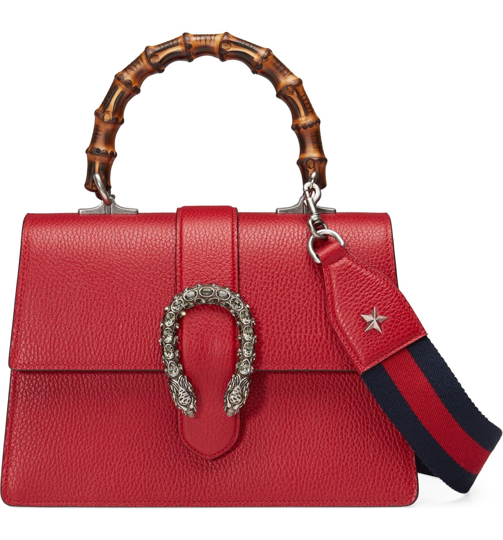 850893bd1 Gucci Medium Dionysus Leather Top Handle Satchel | Nordstrom