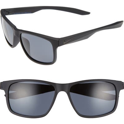 Nike Essential Chaser 5m Sunglasses - Matte Black/ Racer Blue