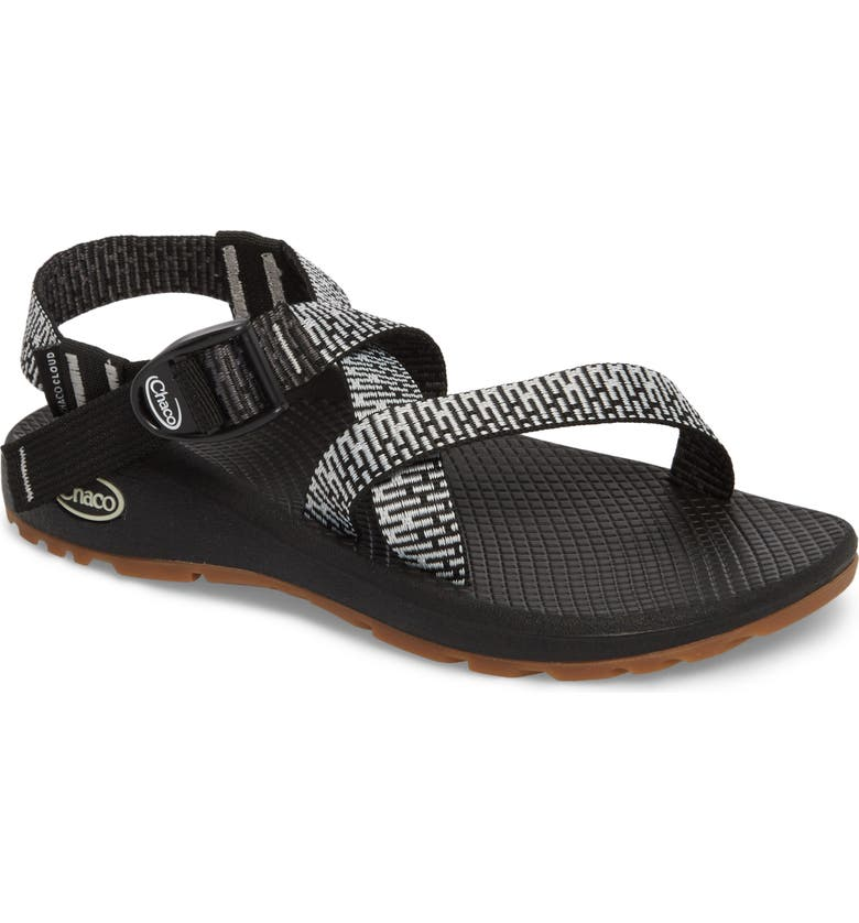 CHACO Z/Cloud Sandal, Main, color, PENNY BLACK