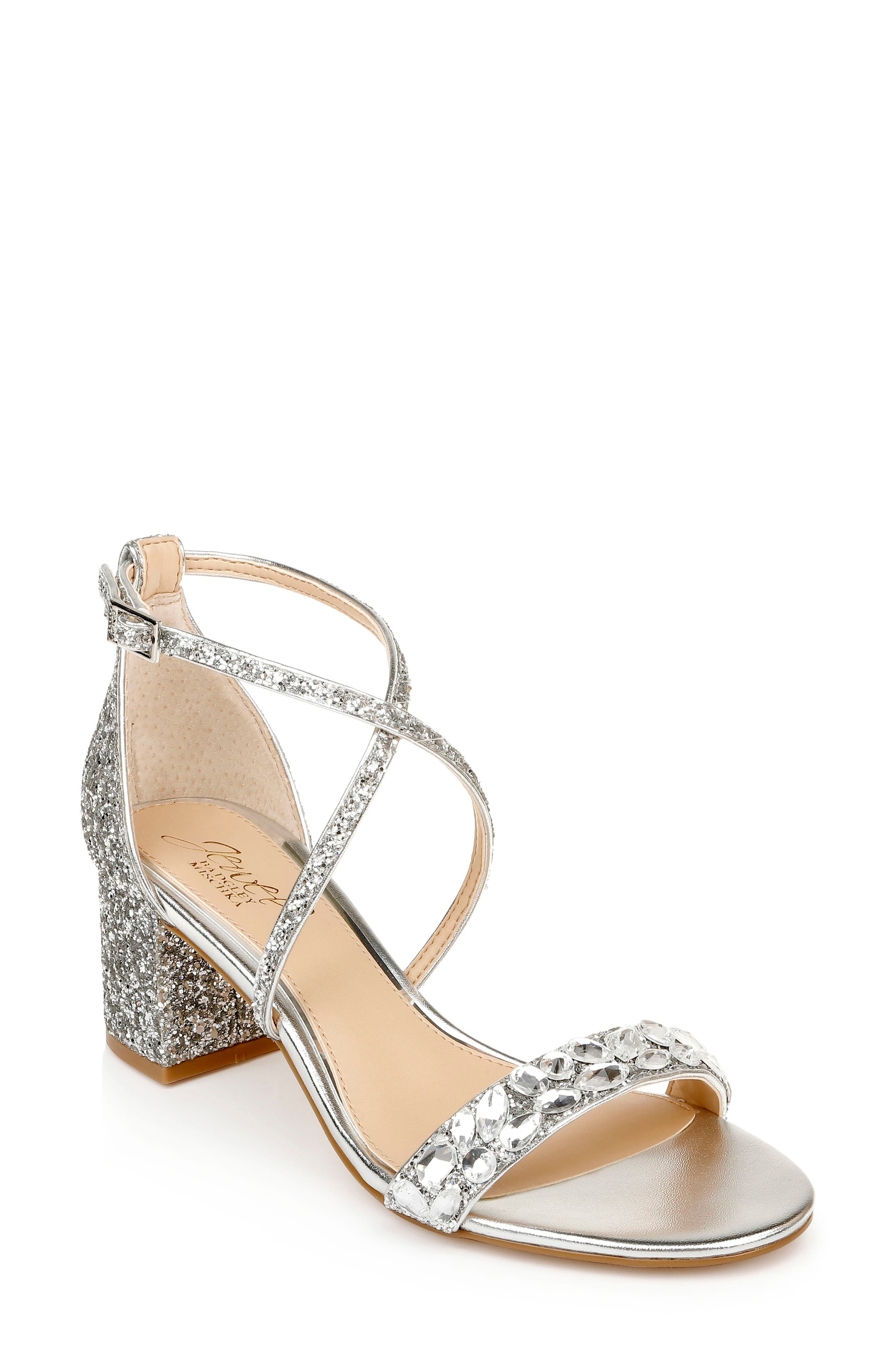 Claudia Embellished Strappy Sandal