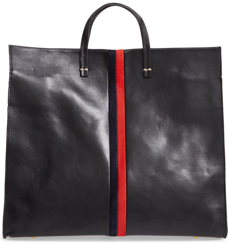 Clare V Simple Leather Tote