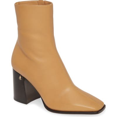 Jimmy Choo Bryelle Leather Ankle Bootie, Yellow