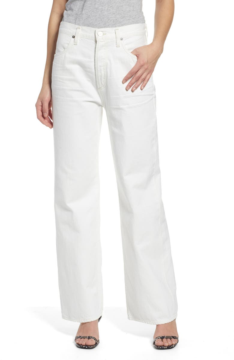 CITIZENS OF HUMANITY Flavie High Waist Trouser Jeans, Main, color, 116