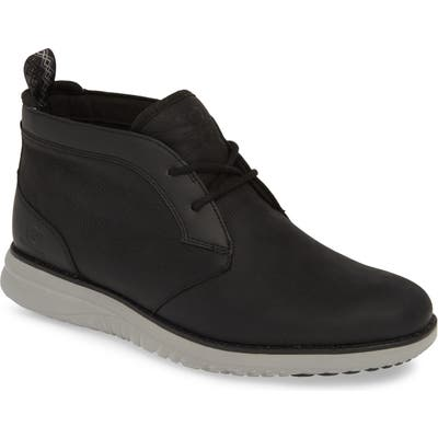 UGG Union Waterproof Chukka Boot, Black