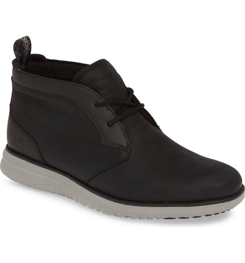 UGG<SUP>®</SUP> Union Waterproof Chukka Boot, Main, color, BLACK