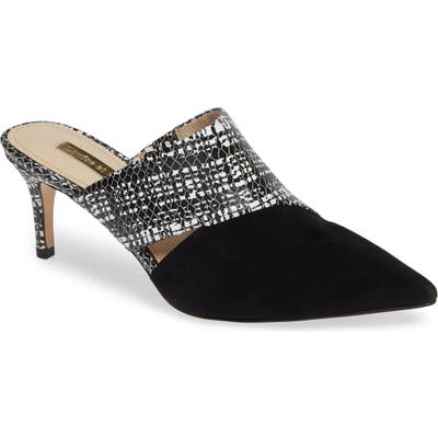 Louise Et Cie Jelisa Pointy Toe Mule- Black