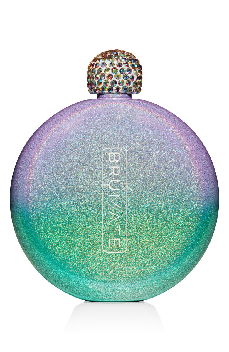 BRÜMATE Glitter Flask, Main, color, GLITTER MERMAID