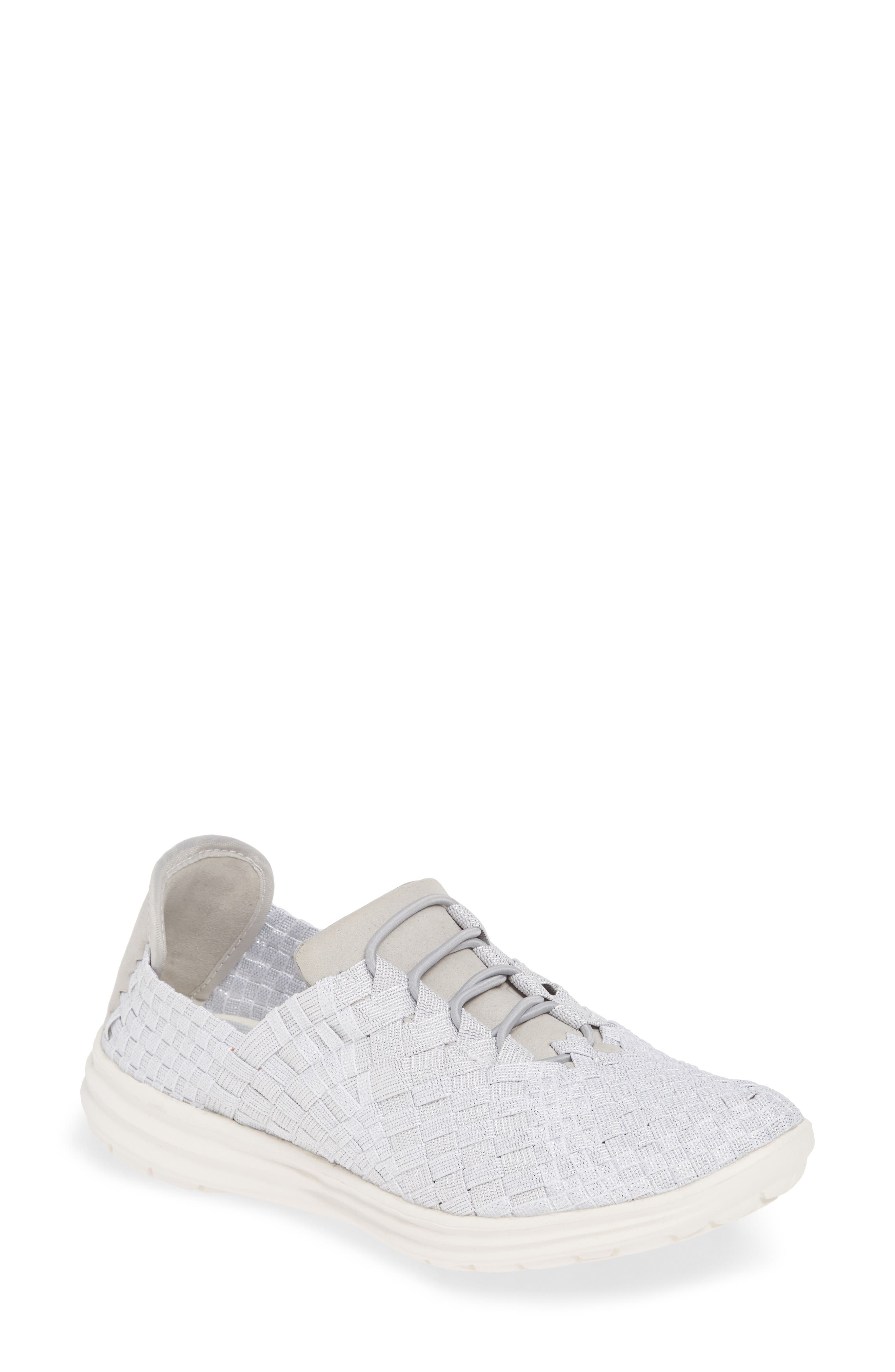 'Victoria' Woven Elastic Sneaker