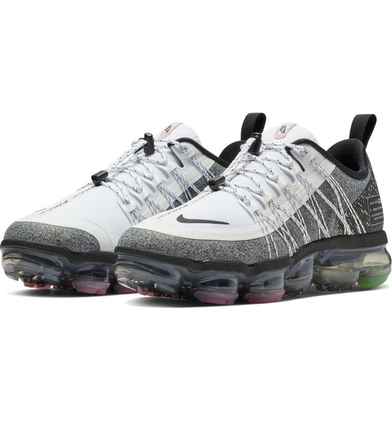 4dfc3aa52d Air VaporMax Run Utility Sneaker, Main, color, WHITE/ BLACK/ LIME/
