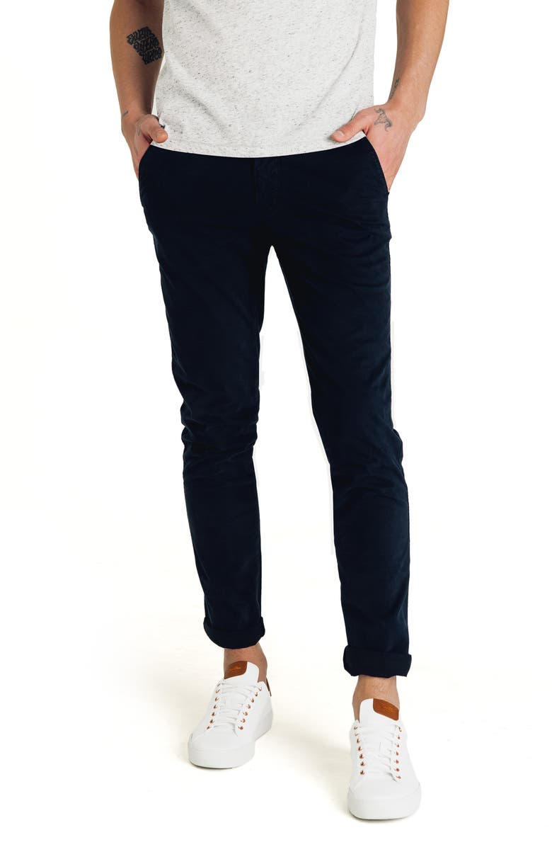 GOOD MAN BRAND Pro Slim Fit Chino Pants, Main, color, BLACK NAVY