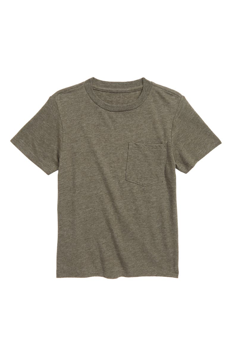TUCKER + TATE Essential Pocket T-Shirt, Main, color, GREEN BEETLE