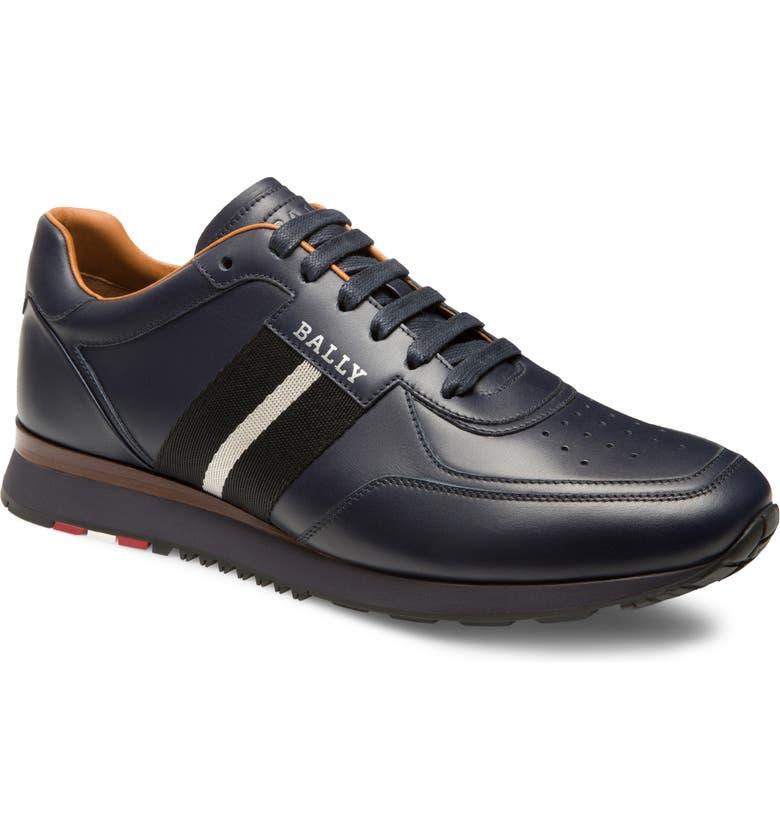 BALLY Aston Sneaker, Main, color, INK