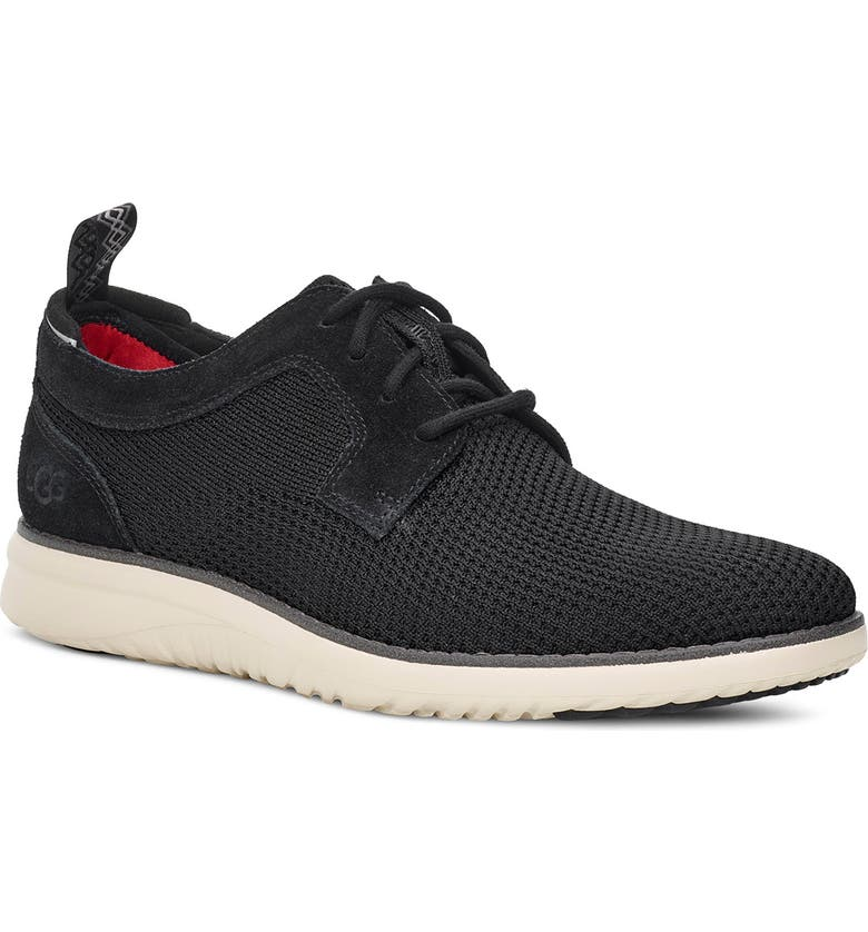 UGG<SUP>®</SUP> Union Derby Hyperweave Derby, Main, color, BLACK