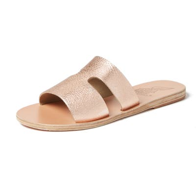 Ancient Greek Sandals Apteros Slide Sandal, Pink