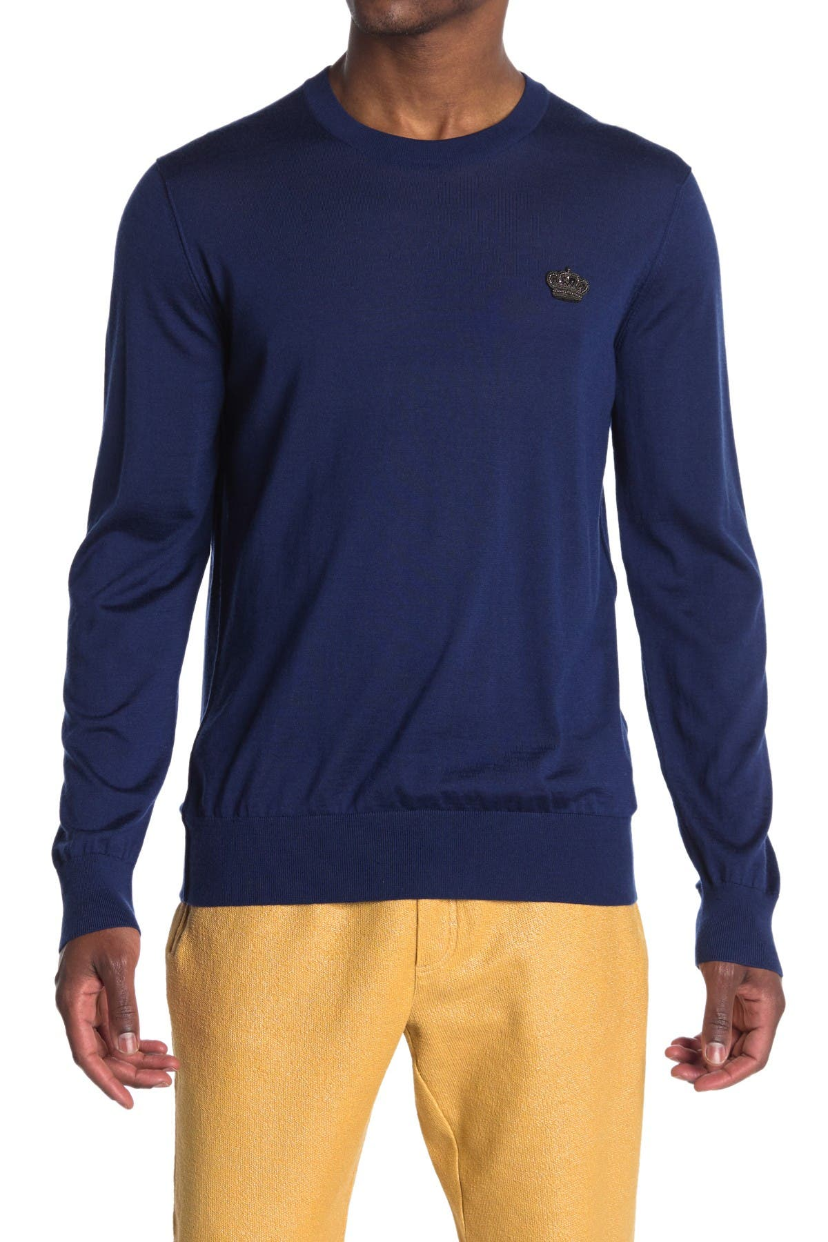 Image of Dolce & Gabbana Long Sleeve Cashmere Shirt
