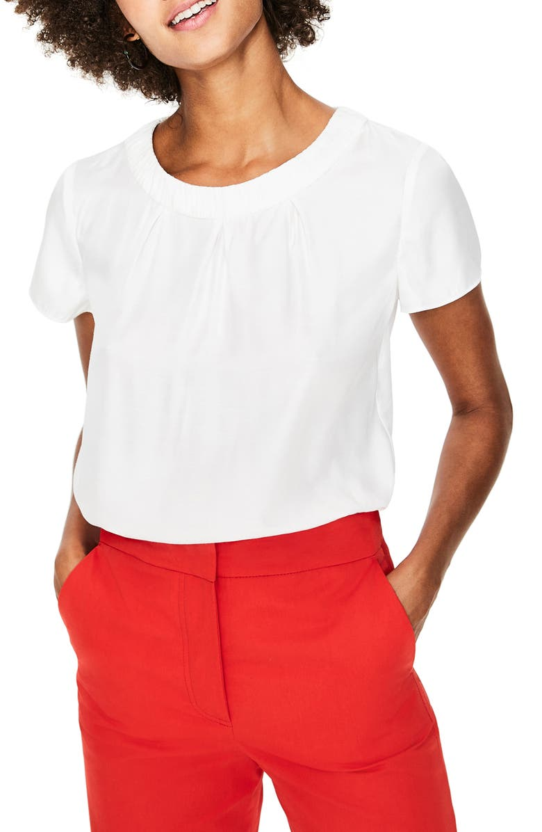 BODEN Carey Top, Main, color, IVORY