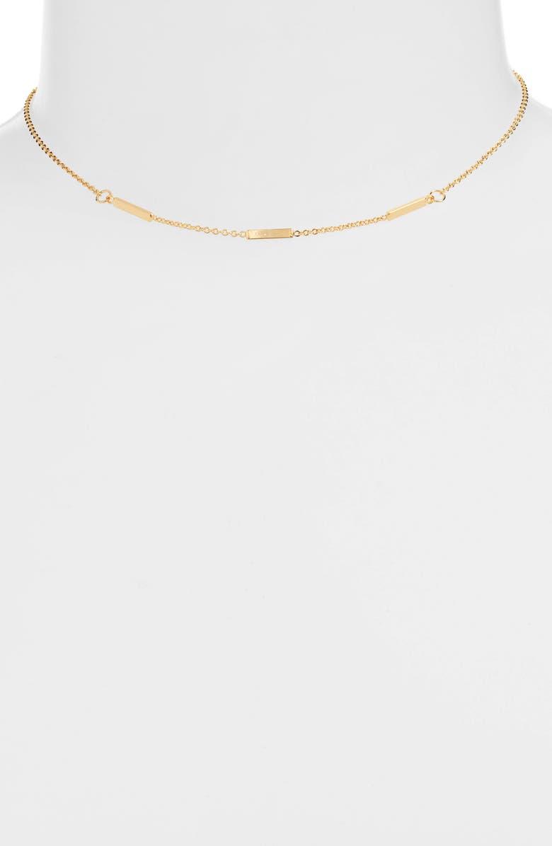 UNCOMMON JAMES BY KRISTIN CAVALLARI Williamsburg Necklace, Main, color, GOLD
