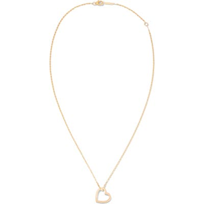 Lana Jewelry Small Heart Pendant Necklace