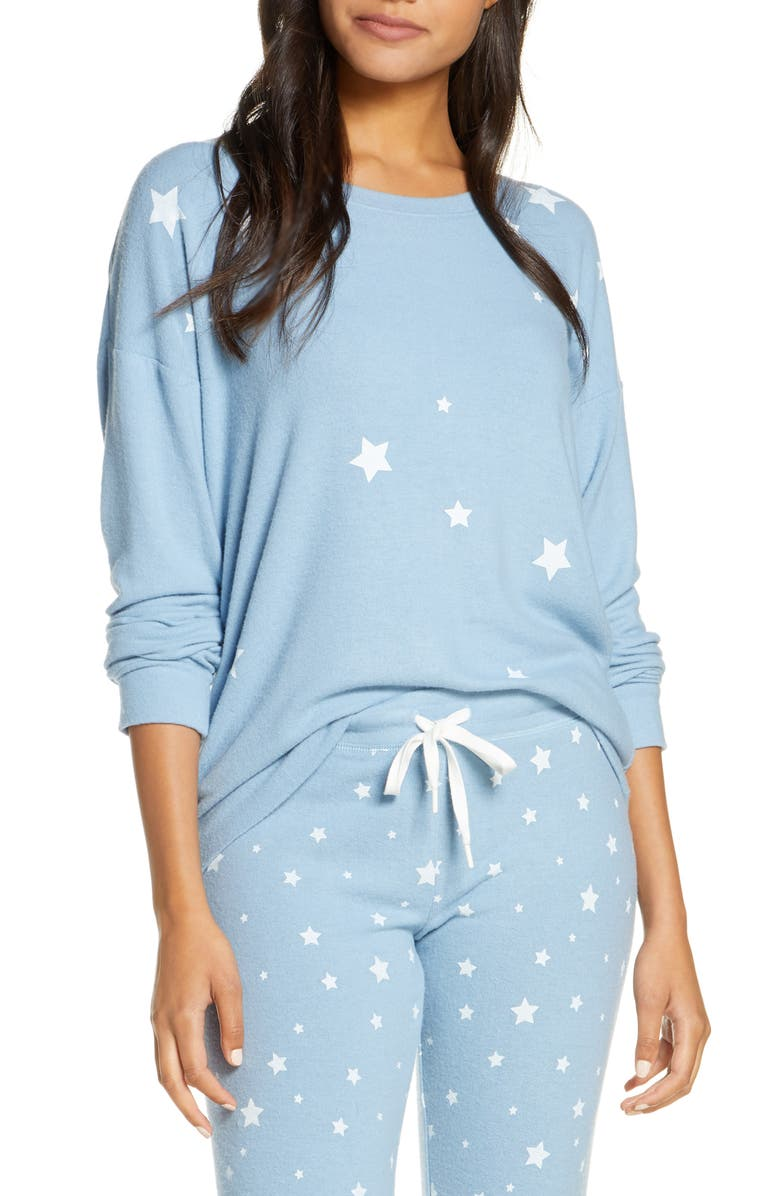PJ SALVAGE Gone Napping Top, Main, color, 400