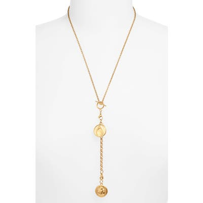 Ellie Vail Layla Double Medallion Y-Necklace